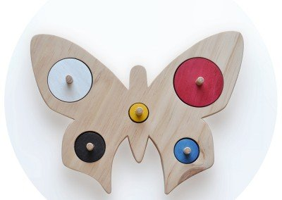 Mariposa Tamaños